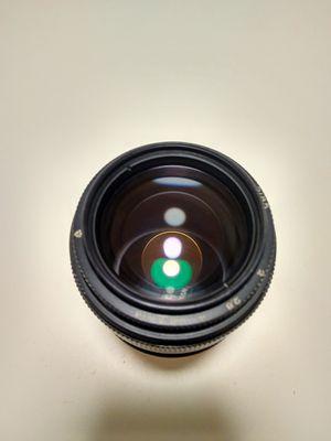 Manual lens for Canon EOS Jupiter 9 MC 85mm f2.0 Bokeh Monster for Sale in West New York, NJ
