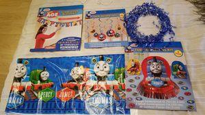 Thomas the train birthday decor for Sale in Delta, CO