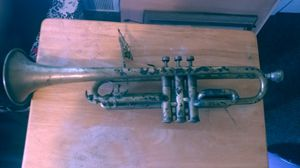 Concertone trumpet with mouthpiece and case. for Sale in Newport, WA