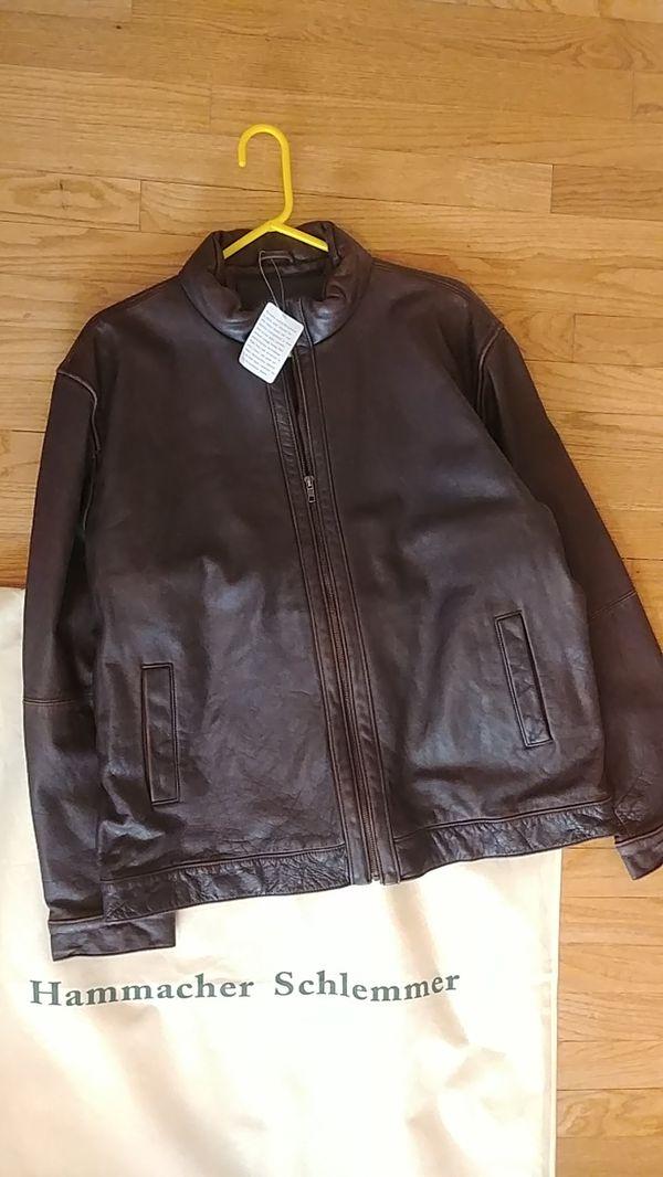 Hammacher Schlemmer Leather Jacket