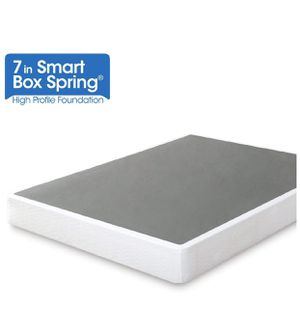 7 Inch Smart Box Spring / Mattress Foundation / Strong Steel Structure / Easy Assembly / Twin for Sale in Queens, NY
