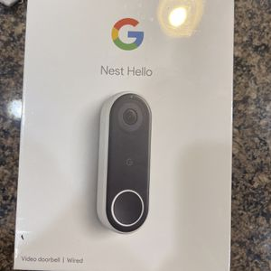 Brand New In Box Google Nest Home Video Doorbell for Sale in Latrobe, PA