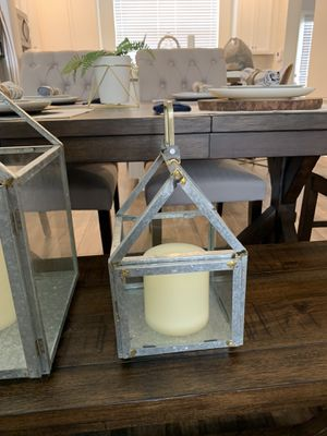 Matching silver candle holder for Sale in Winter Garden, FL