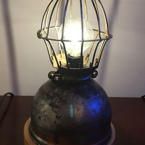 Vintage industrial steampunk lamp for Sale in Vienna, VA