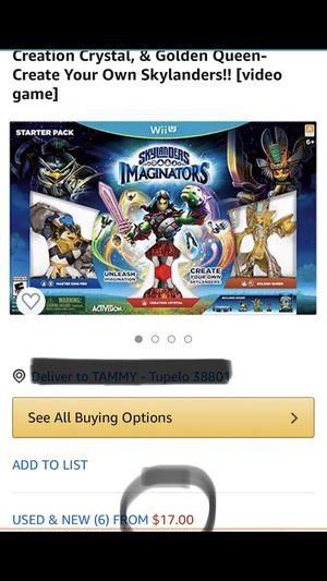 Skylanders video game for WiiU for Sale in Tupelo, MS