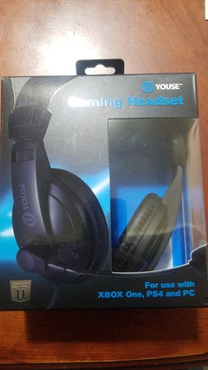 Gaming Headset XBOX PS4 PC WIRED for Sale in South Gate, CA