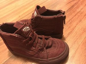 Toddler vans size 9 for Sale in Las Vegas, NV