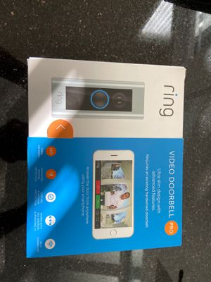 RING VIDEO DOORBELL PRO for Sale in Commerce Charter Township, MI