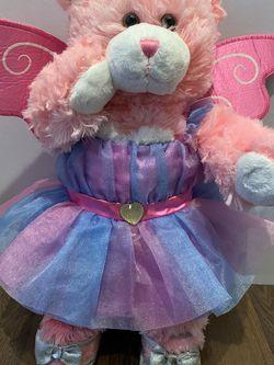 Build A Bear Worship Pink Fairy Teddy Bear With Heels for Sale in Sylmar,  CA