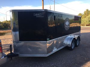 2016 LOOK ENCLOSED MOTORCYCLE TRAILER for Sale in Chandler, AZ