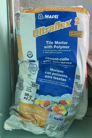 Ultrafex Tile Mortar w/ Polymer - 50lbs (NEW) for Sale in Antioch, CA