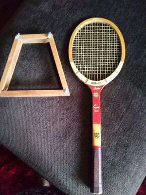 Tennis Racket Wooden w/ Hub Vintage for Sale in Glen Allen, VA