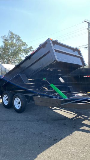 8x12x2 DUMP TRAILER for Sale in Redwood City, CA