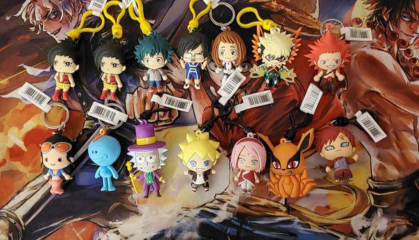 Anime Keyrings