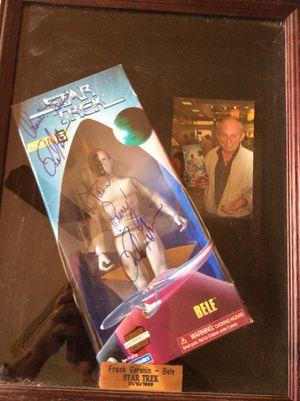 Frank Gorshin dual autographed Bele action figure NIB for Sale in Phoenix, AZ