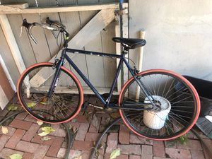 """26"""" trek road bike fix gear bike $50 for Sale in San Diego, CA"""