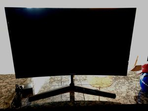 """Samsung curved monitor """"27 for Sale in Bryan, TX"""