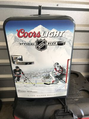 Little mini fridge coors light beer edition fishing hunting camping for Sale in Macomb, MI