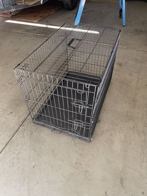 Dog crate large for Sale in Wildomar, CA