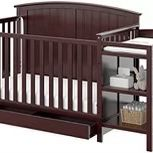 Brand New 4-n-1 Convertible Crib With Changer And Drawer for Sale in Frankfort, IL