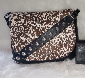 Michael Kors Calf Hair Hayes Messenger Bag. for Sale in San Diego, CA