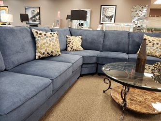 BRAND NEW BLUE KENDRICK 6-SEATER SLEEPER SECTIONAL! for Sale in Marietta,  GA