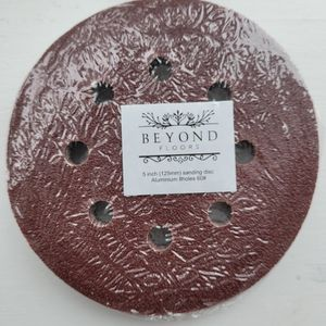 100 PCS 5 Inch 8 Hole Hook & Loop Sanding Discs for Sale in Marengo, IL