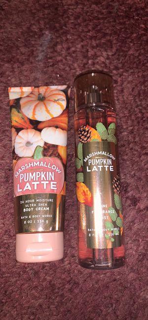 Marshmallow Pumpkin Latte set for Sale in Avis, PA