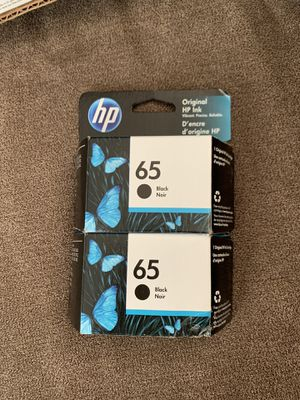 HP 65XL | Ink Cartridge | Black | ~300 pages | N9K04AN for Sale in Peabody, MA