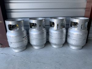20-lb Aluminum Propane Tank for Sale in Houston, TX