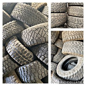 """33"""" & 35"""" All Terrain used Tire Sets for Sale in Houston, TX"""
