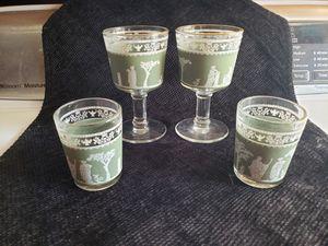 Vintage shot glasses 4 for Sale in Torrance, CA