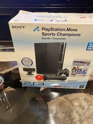 Play station PS3. Move sport champion bundle for Sale in Boynton Beach, FL
