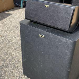 Klipsch Surround sound With Subwoofer for Sale in Garden Grove, CA