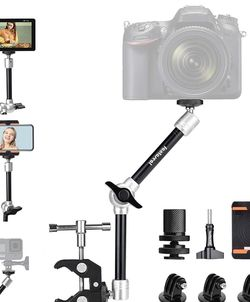 """11"""" Adjustable Heavy Duty Robust Magic Arm, DSLR Mirrorless Action Camera Camcorder Smartphone LCD Monitor Video Light Vlog Rig w/ Desk Pole Clamp Hol for Sale in Bonita,  CA"""