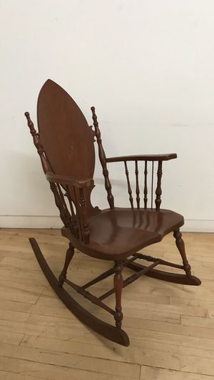 Antique wooden rocking chair for Sale in San Francisco, CA