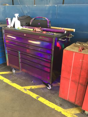"""Snap On 54"""" 10 Drawer Double Bank Masters Series Tool Box for Sale in Austin, TX"""