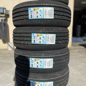 195/55R15 Waterfall $280 Four Brand New Tires ( Installation & Balancing Included ) for Sale in Fontana, CA