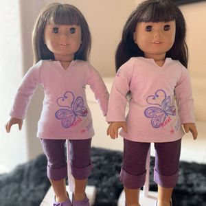 Classic American Girl Look Like Me Dolls With Ears Pierced for Sale in Miami, FL