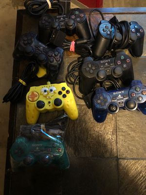 PlayStation 2 wired controllers for Sale in Moreno Valley, CA