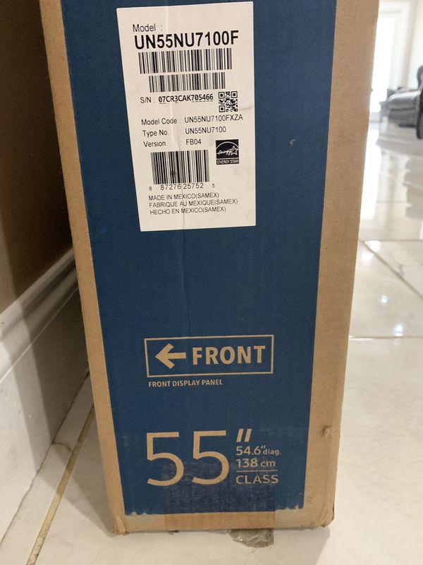 Price firm Samsung 55 inch 4K smart TV
