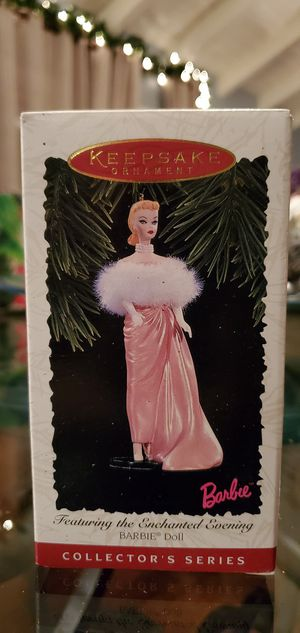 Vintage 1996 Enchanted Evening Barbie ornament for Sale in Thousand Oaks, CA