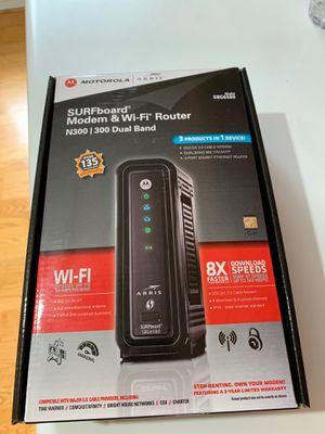 Motorola arris modem & WiFi router for Sale in Santa Clarita, CA