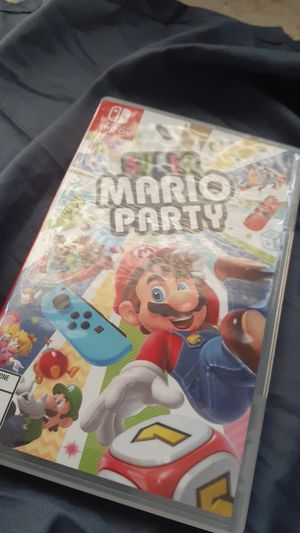 Super Mario Nintendo switch super Mario party for Sale in Richmond, MI