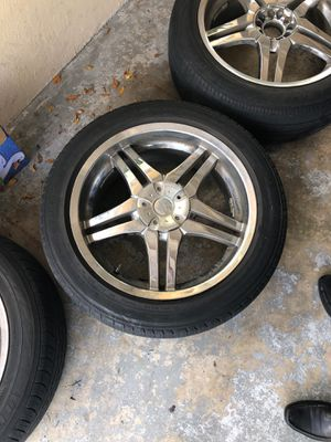 20 inch dip chrome rims for Sale in Fort Lauderdale, FL