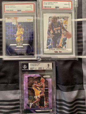 Kobe Bryant graded cards lot for Sale in Hemet, CA