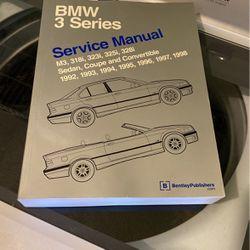 BMW 3 Series Service Manual 1992-1998 for Sale in High Ridge,  MO