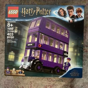 Lego Harry Potter The Knight Bus 75957 New and Sealed. The box has light shelf ware. for Sale in El Paso, TX