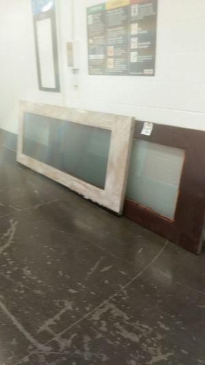 Set of double doors dual pane glass 4 door hinges for Sale in Goodyear, AZ