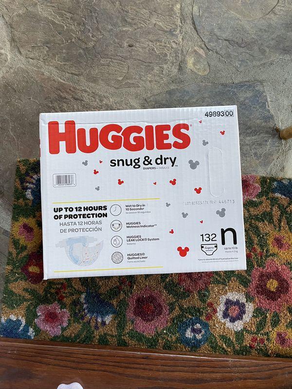 Brand New Huggies Diapers Size Newborn
